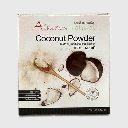 AIMM'S NATURAL COCONUT POWDER 60 G.