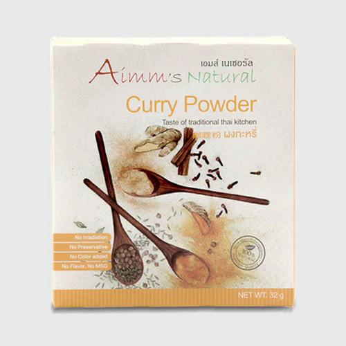 AIMM'S NATURAL CURRY POWDER  32 G.