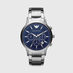 安普里奥·阿玛尼(EMPORIO ARMANI) Renato 系列不锈钢43mm计时腕表