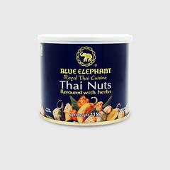 BLUE ELEPHANT THAI NUTS FLAVOURED WITH HERBS 115 G.