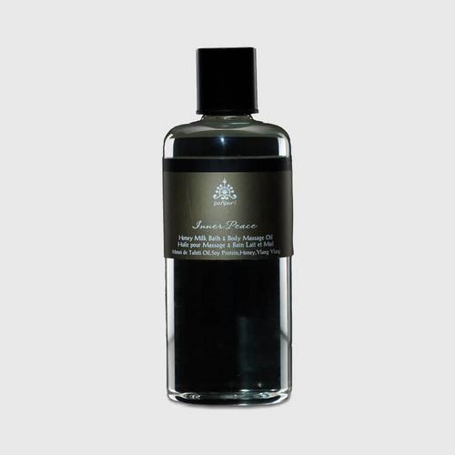Pañpuri Inner Peace Honey Milk Bath & Body Massage Oil 300 ml