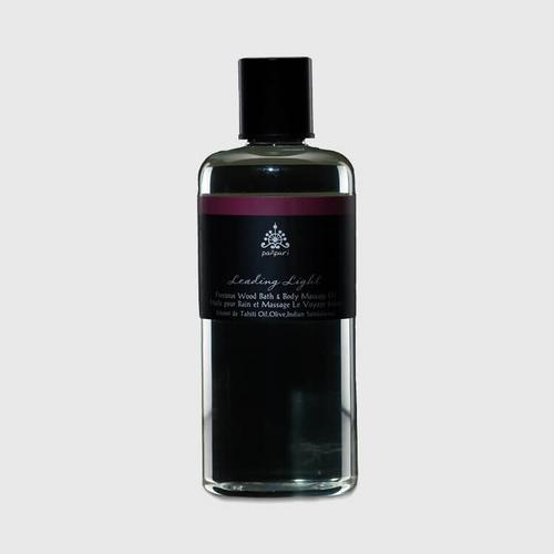 Pañpuri Leading Light Precious Wood Bath & Body Massage Oil 300 ml
