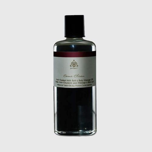 Pañpuri Come Clean Anti - Oxidant Milk Bath & Body Massage Oil 300 ml