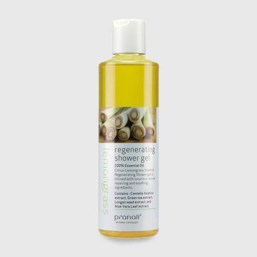 Pranali Lemongrass Natural Regenerating Shower Gel 250ml