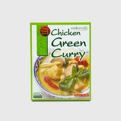 ONE DISH ASIA CHICKEN GREEN CURRY 200 G.