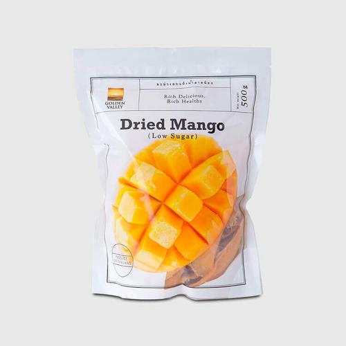 GOLDEN VALLEY SOFT DRY MANGO 500 G.