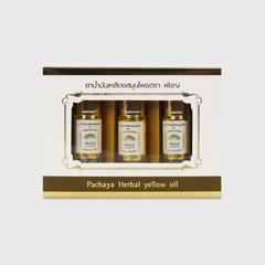 PACHAYA Herbal Yellow Oil Roller (3CCx3)