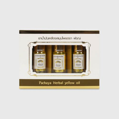 PACHAYA Herbal Yellow Oil Roller (3CCx3)