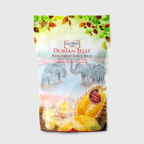 CELEBEST DURIAN JELLY PLUS CALCIUM 150 G.