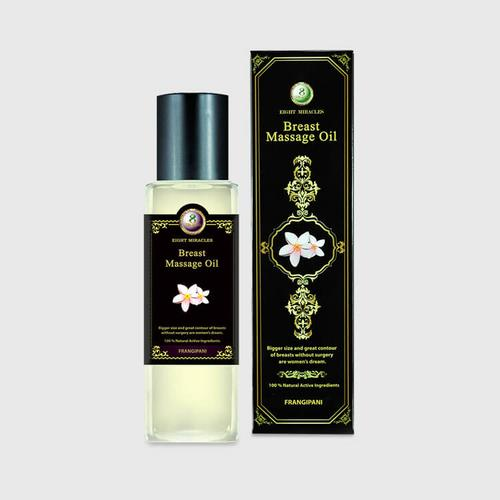 8 Miracles Breast Massage Oil 260 ml.