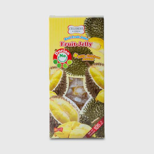 CELEBEST DURIAN JELLY PLUS CALCIUM 105 G.