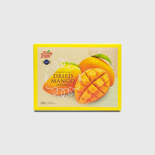 TASTY FRUITY DEHYDRATED MANGO WITH LOW SUGAR 200G