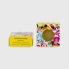 Pranali Thai Silk Sericin Soap 120g