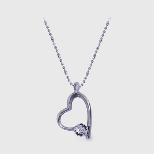 12VICTORYTrlie Heart Necklace
