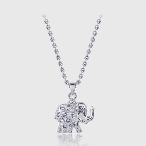 12VICTORY项链Bow Elephant