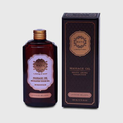 MAYA LAVENDER RELAXING MASSAGE OIL 200ML