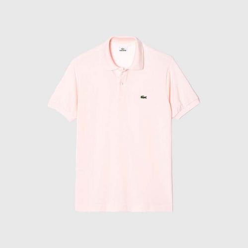 法国鳄鱼 LACOSTE 男式短袖  L.12.12 POLO衫(粉红色)Flamingo 尺寸 5