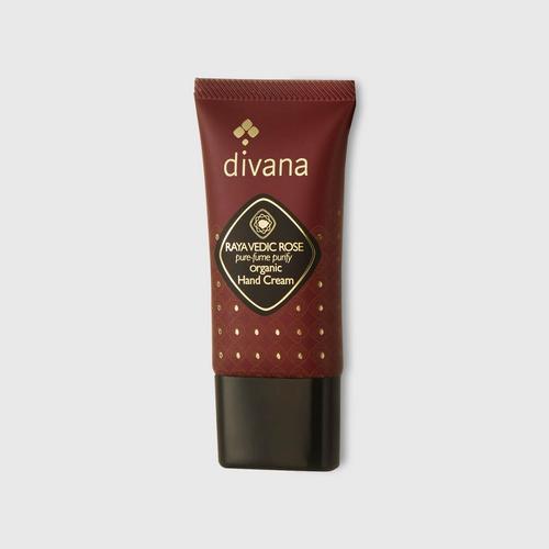 Divana Raya Vedic Rose Pure-fume Purify Organic Hand Cream (30 g)