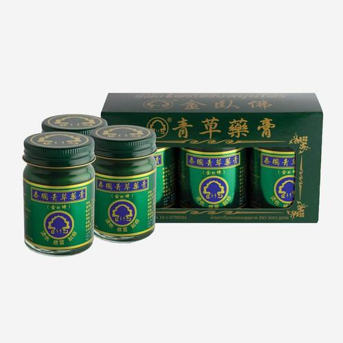 PHOHERB(金卧佛牌) Herbal Wax 50 g (3 pieces)