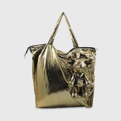 ANITA Eleph Foldable Bag -L Disco Gold
