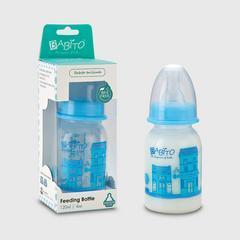 Babito BPA-Free Baby Feeding Bottle, Charismata 4 ounces Blue Colour