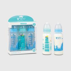 Babito BPA-Free Baby Feeding Bottle 3pk 8 ounces Blue Colour
