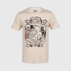 立酷派  LCMS6116 T恤短袖 Beige - M