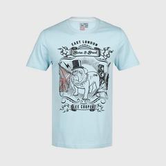 立酷派  LCMS6116 T恤短袖 Blue - M