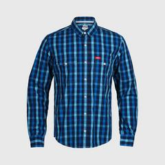 立酷派  LMS5383A 长袖衬衫 Blue - M