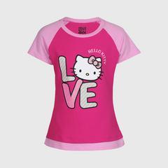凯蒂猫  T204 插肩袖 ( 尺寸 3 )