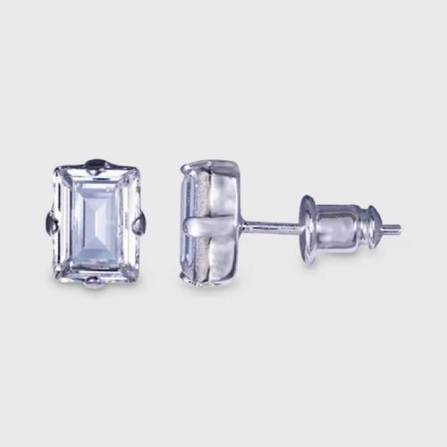 12VICTORYClear Frame Earrings