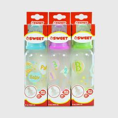 SWEET Bottle 8oz. Lovely set3pc.