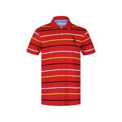 U.S. POLO衫 红色 (UKS372-1-OR)