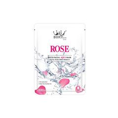 BORY CUTE ROSE PHYTO FACIAL AQUA MASK 30ml (10 pieces/box)