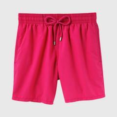 Vilebrequin Solid Shocking Pink 男士 沙滩泳裤 尺寸 S