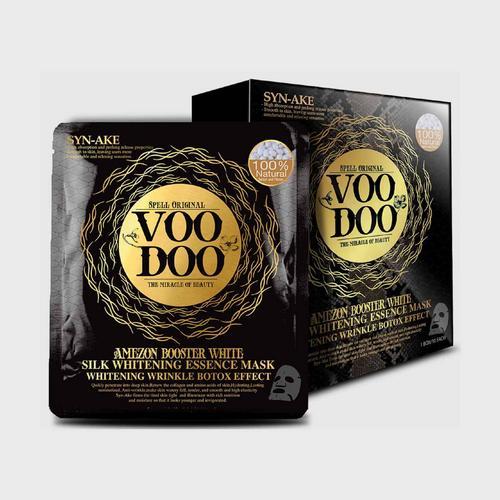 VOODOO AMEZON蚕丝精华面膜贴(1盒*10片)