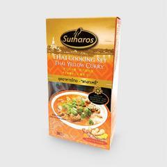 SUTHAROS Thai Yellow Curry Cooking Set 85g.