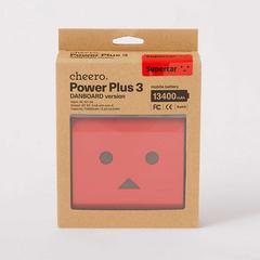 cheero Power Plus3 DANBOARD version 13400mAh 充电宝 -红色