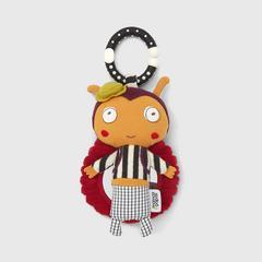 Mamas & Papas Linkie Toy - 互动玩具-红瓢虫洛蒂 安抚摇铃玩偶