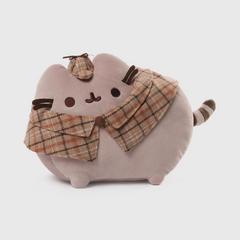 PUSHEEN胖吉猫 毛绒娃娃玩具 侦探款