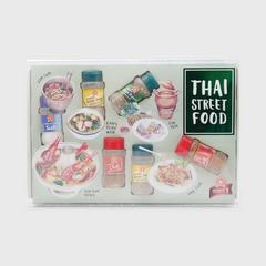 SPICE STORY Herbs and Spices Gift Set - Travel Guide Thai Street Food