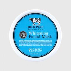 Scentio牛奶美白Q10面膜 100毫升