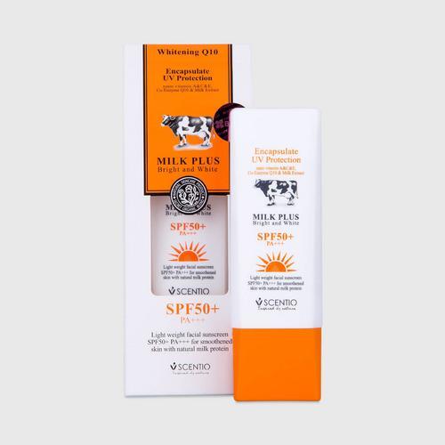 Scentio牛奶防紫外线SPF50+ PA+++防晒霜 30毫升