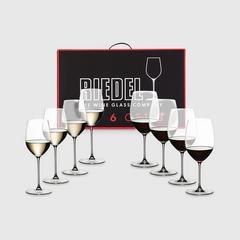 Riedel Value Pack : Veritas Pay 6 Get 8 Cabernet - Viogner/Chardonnay