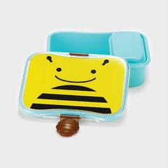 SKIP HOP 动物园防漏午餐盒 小蜜蜂