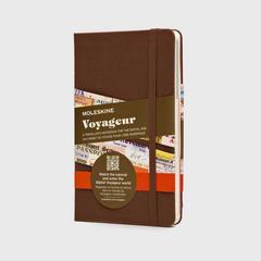 魔力斯奇那 MOLESKINE VOYAGEUR 旅行笔记本 棕色