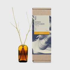 BsaB Weed Diffuser 100ml - Mandarin