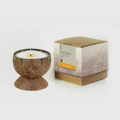 BsaB Coconut Soy Wax Candle 200g - Pear Rose
