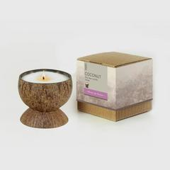 BsaB Coconut Soy Wax Candle 200g - Fleurs de France