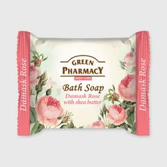 GREEN PHARMACY SOAP DAMASK ROSE WITH SHEA BUTTER 100 G.